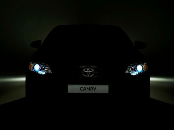 Toyota Camry facelift teaser revealed, not expected to make it to India anytime soon   CarTrade.com