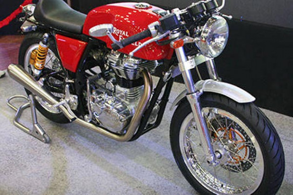 Royal Enfield Continental GT expected to be launched in India by 2013 end | CarTrade.com