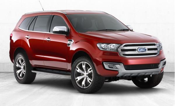 Next generation Ford Endeavour aka Everest debuts at 2014 Beijing Motor Show | CarTrade.com