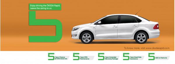 Skoda India introduces the Rapid