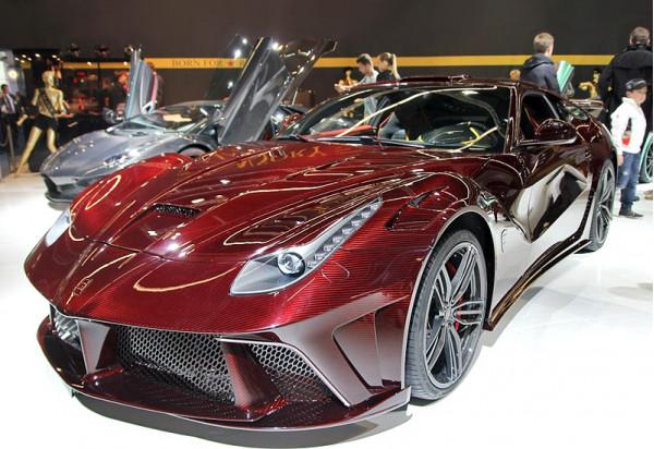Stunning appeal of Ferrari F12 Berlinetta Mansory La Revoluzione   CarTrade.com