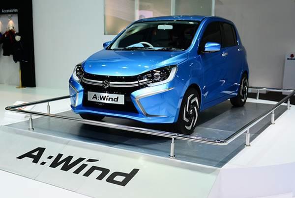Suzuki A-Wind concept showcased at 2013 Thailand International Motor Expo | CarTrade.com