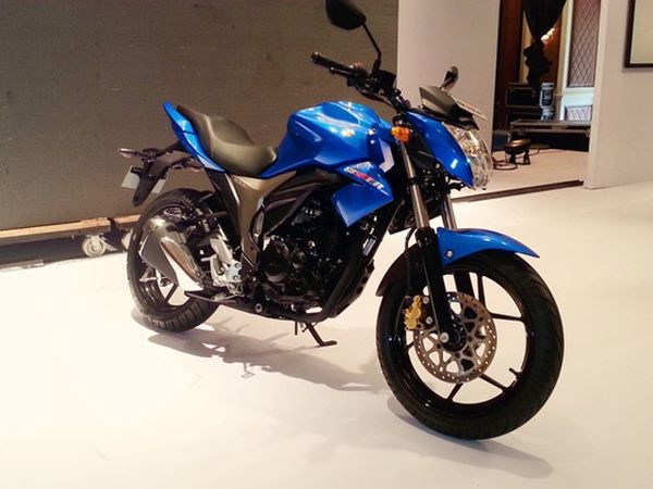 Suzuki Gixxer reportedly sells about 10,000 units a month | CarTrade.com