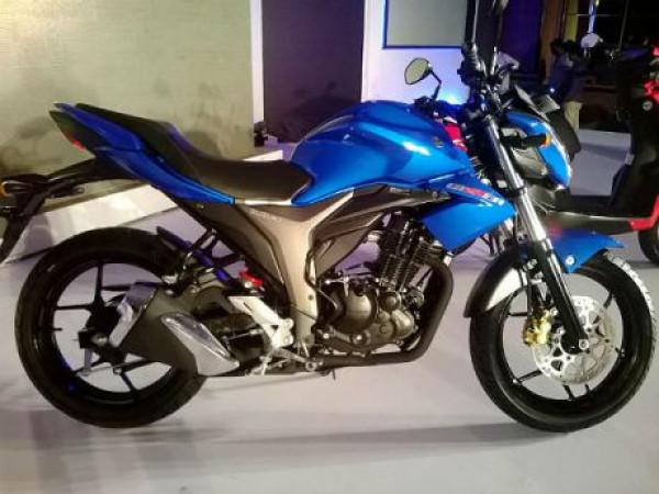 Suzuki Gixxer 150 Bookings commence in India | CarTrade.com