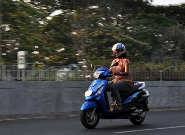 Suzuki Swish gives tough competition to Yamaha Ray | CarTrade.com