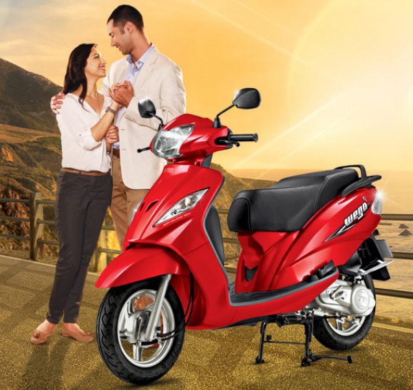 TVS Wego facelift - Stylish urban scooter | CarTrade.com