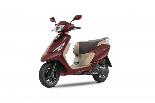 2017 TVS Scooty Zest 110 launched with BSIV updates | CarTrade.com