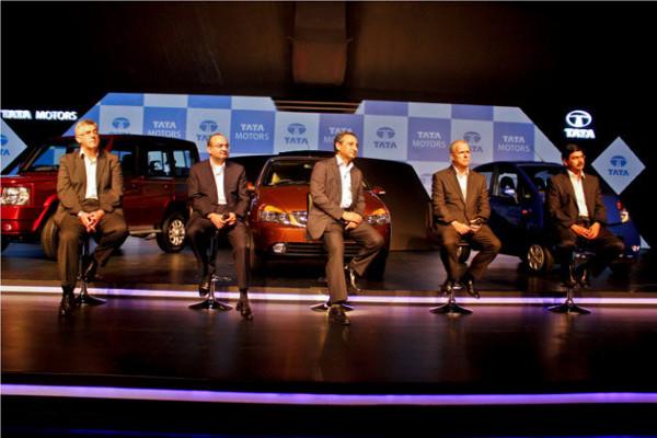 Tata Motors unveils 8 new revamped cars for 2013 | CarTrade.com