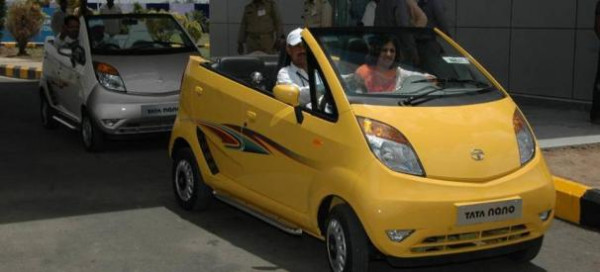 Gujarat transforms Tata Nano into an open-top beach car | CarTrade.com