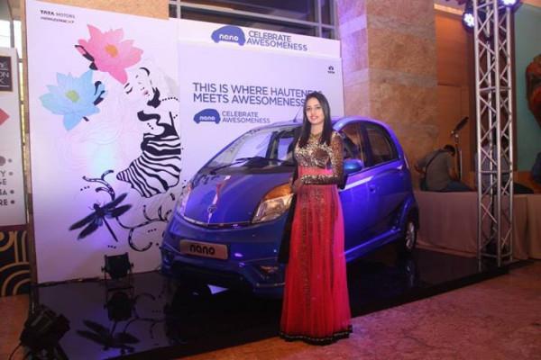 Tata Nano concludes AWESOMNESS event at Lakme Fashion Week | CarTrade.com