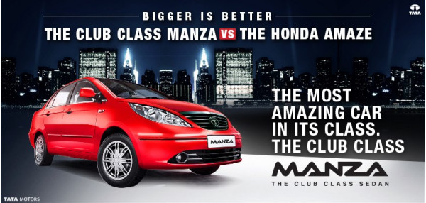 Tata wants you to compare Manza with Amaze | CarTrade.com