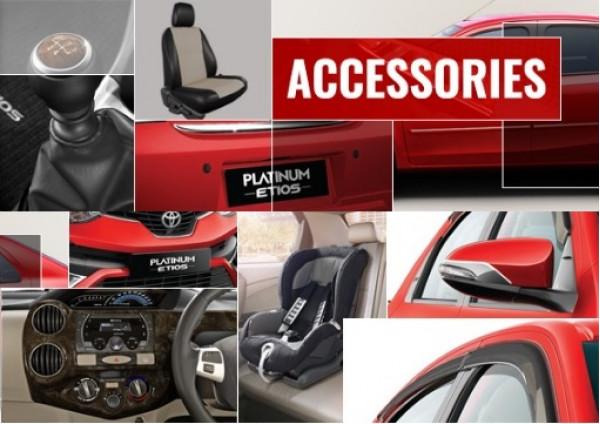 4 best accessories for the Toyota Platinum Etios | CarTrade