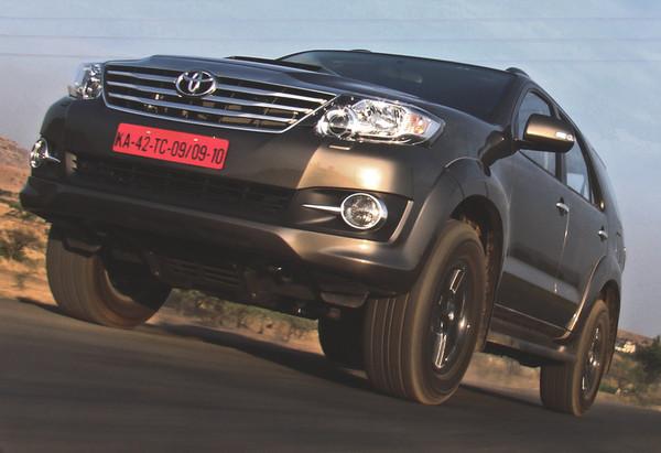 Toyota Fortuner Vs Honda CRV