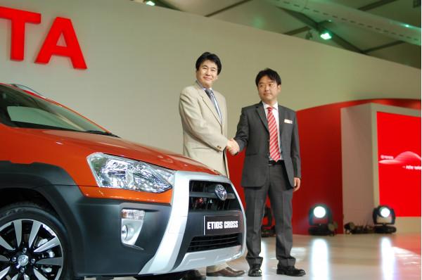 Toyota Kirloskar Motor Unveils Its First Ever Crossover- The New Etios Cross | CarTrade.com