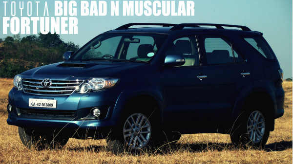 Toyota Fortuner Review: Big, Bad and Muscular - CarTrade