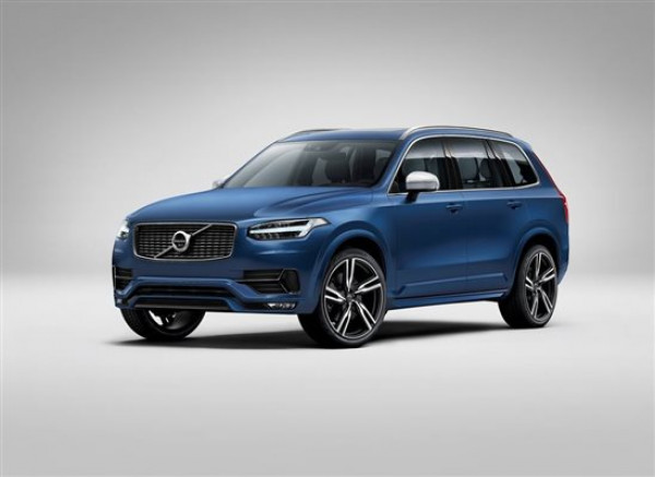 Volvo releases first images of R-Design version of XC90 SUV | CarTrade.com