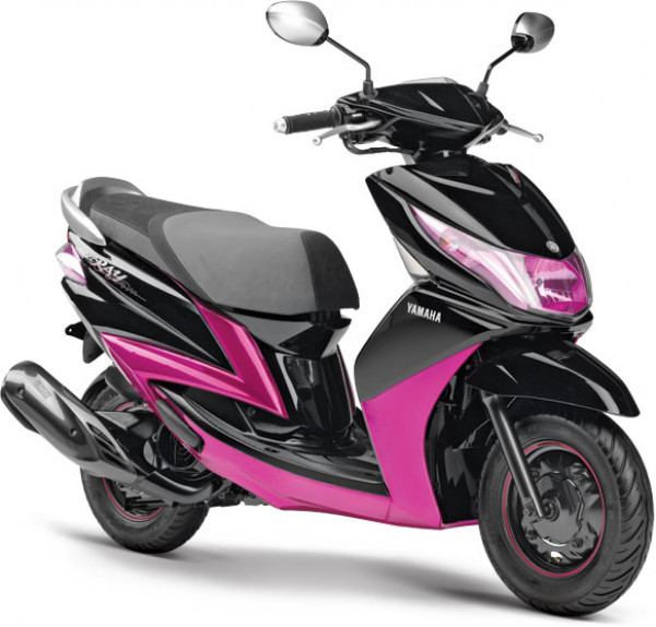 Yamaha ray a brand new option for young women yamaha for Yamaha motorcycles for women