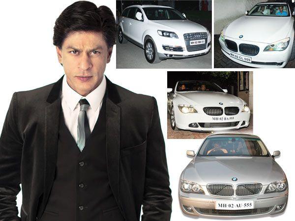 Photo of Shah Rukh Khan  BMW 7-Series - car