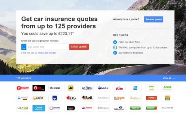 Google offers online car insurance comparison tool | CarTrade.com