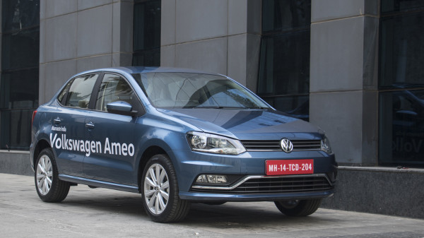 Volkswagen Ameo first look review - CarTrade