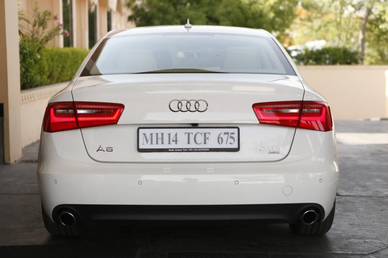 Audi A6 rear profile image