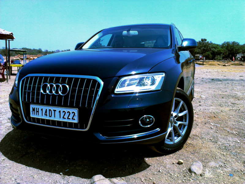 Audi Q5 Handling image