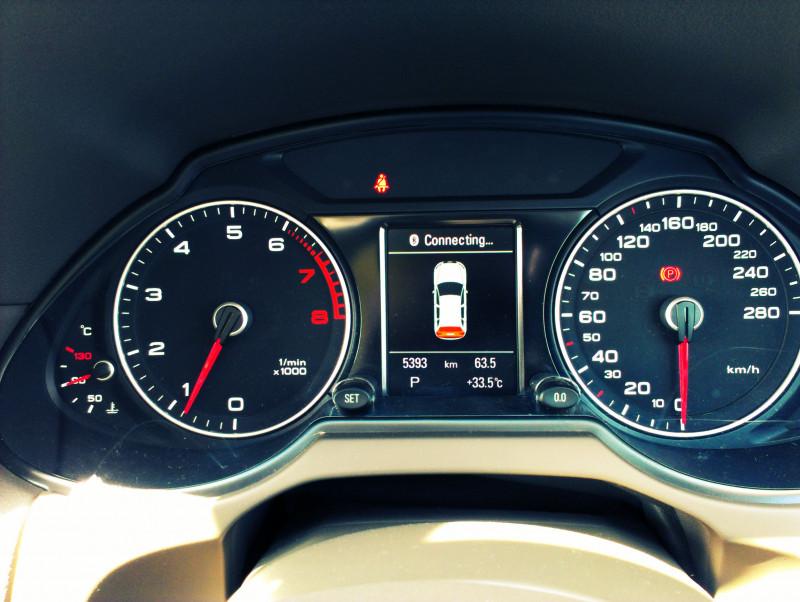 Audi Q5 Instrumental panel
