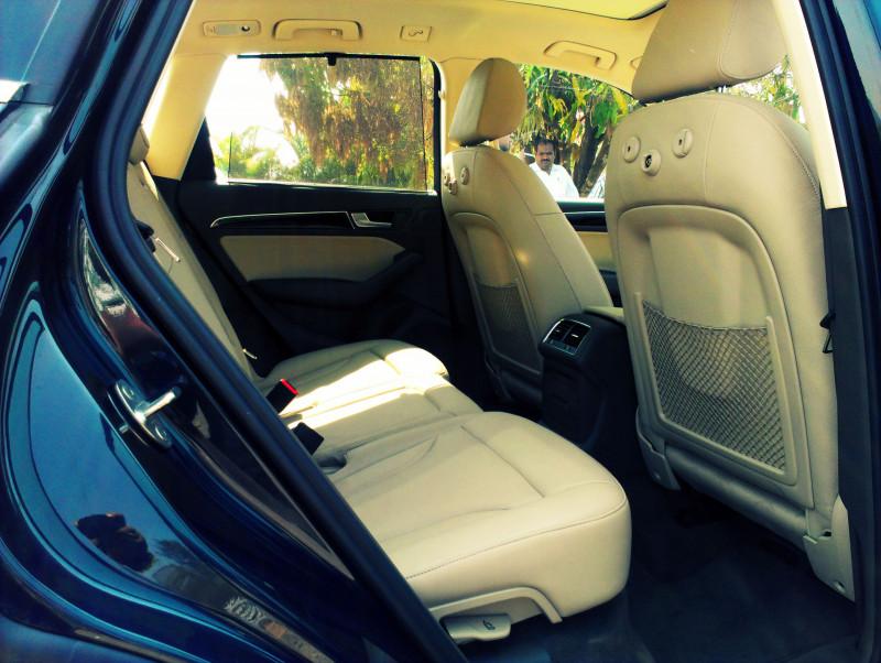 Audi Q5 Rear Legroom
