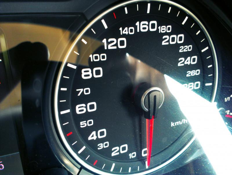 Audi Q5 Speedo image