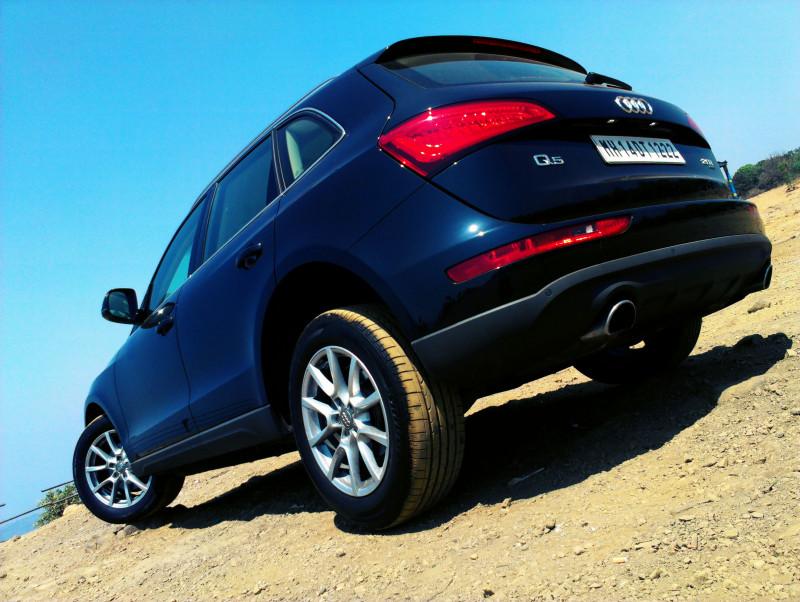 Audi Q5 rear quarter wallpaper