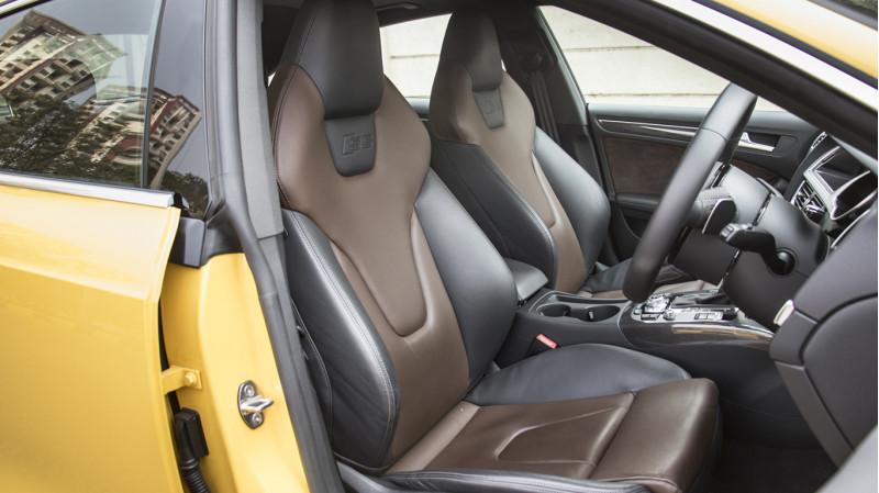 Audi S5 V6T Review Road Test CarTrade Interior Photos Images Pics India 20160219 34