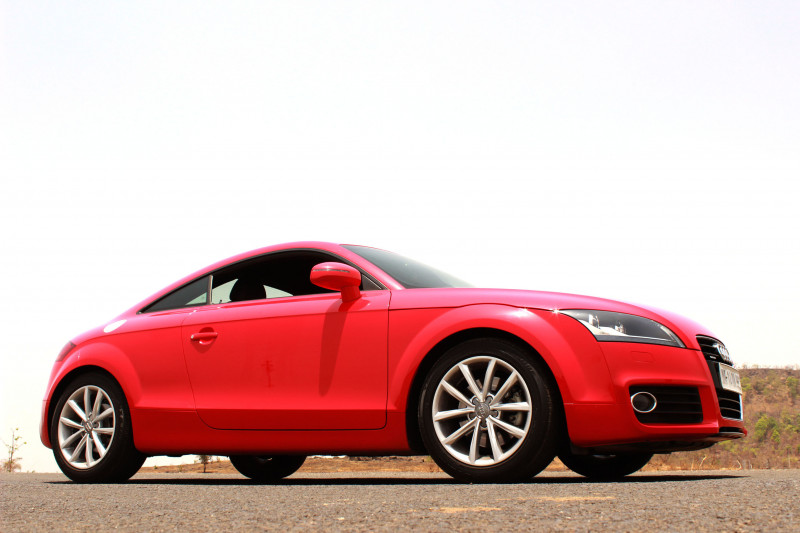 Audi TT Quarter wheelbase