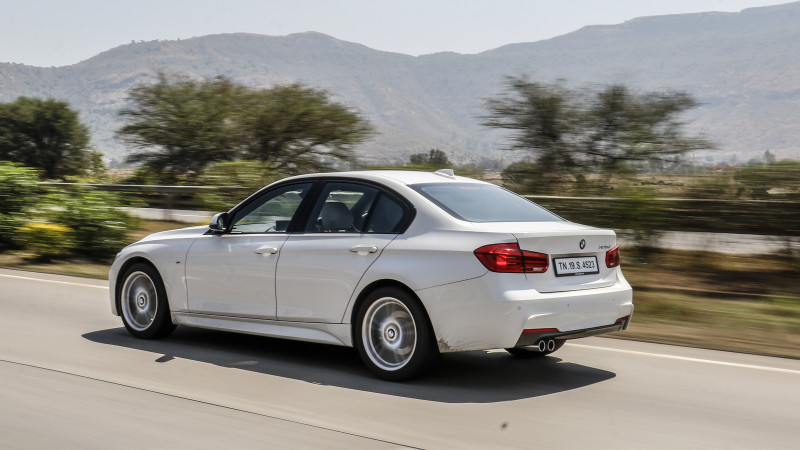 BMW 320d Review 4