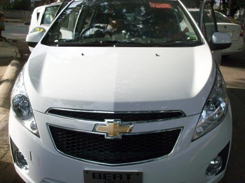 Chevrolet Beat Diesel Full Front View