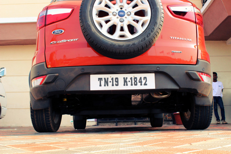 Ford EcoSport Ground Clearence