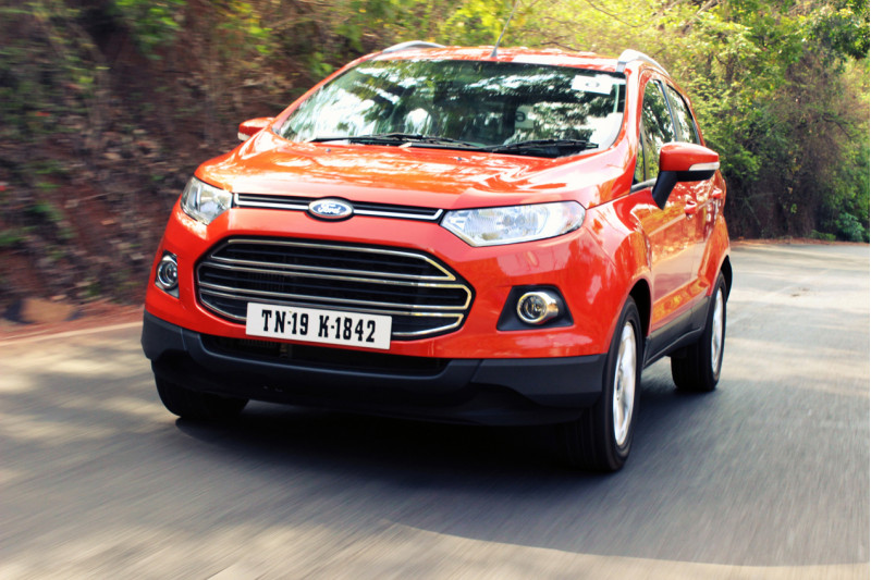 Ford EcoSport in Motion