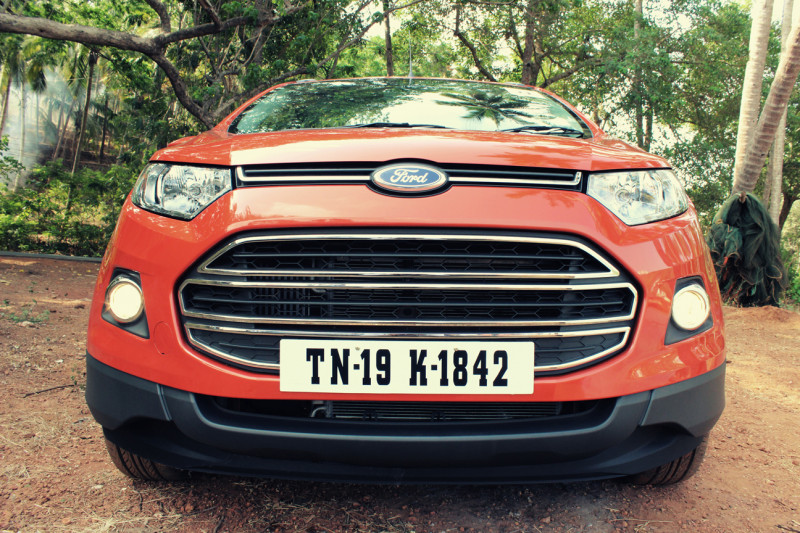 Ford EcoSport radiator grille