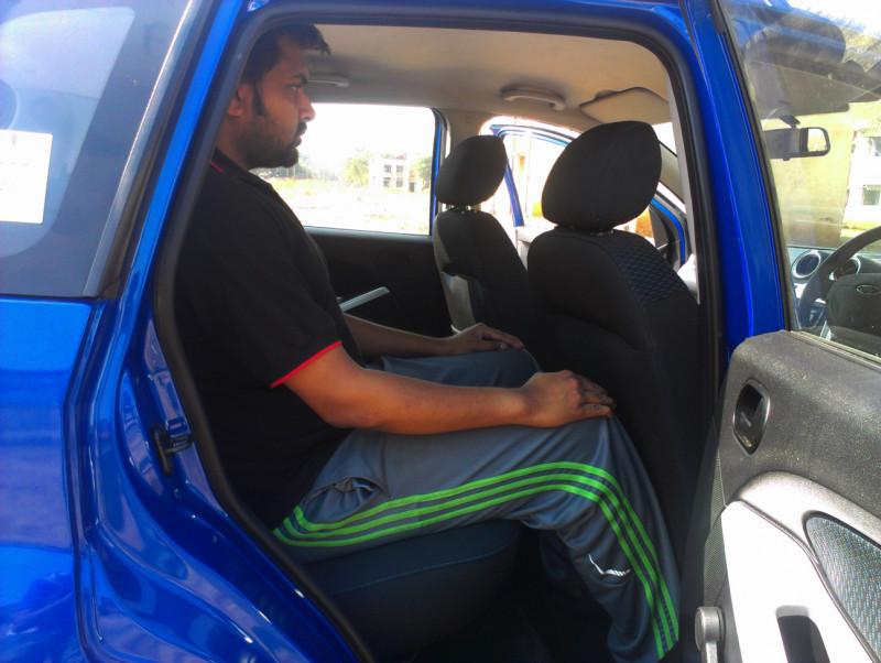 Ford Figo Rear legroom space