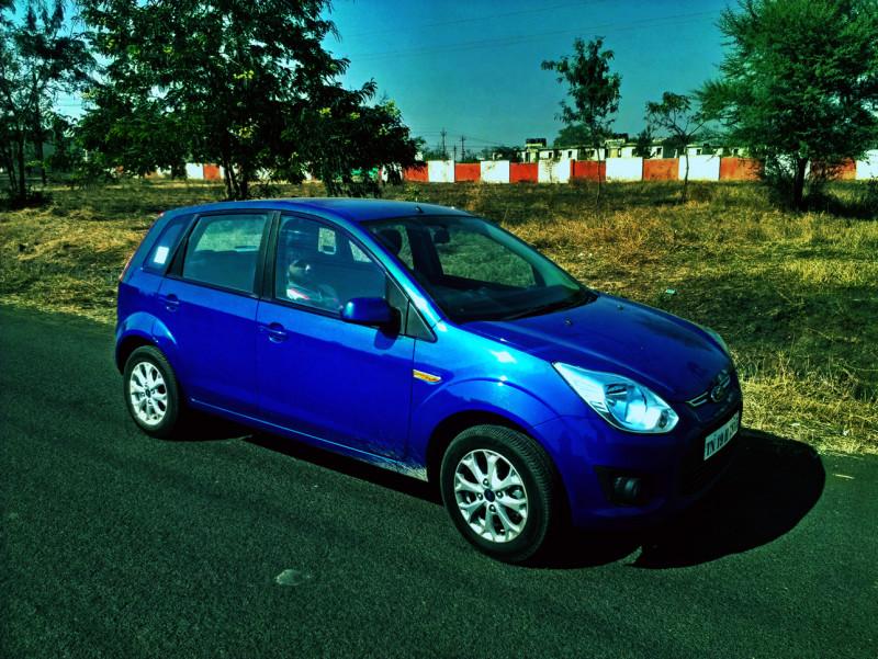 Ford Figo Side profile