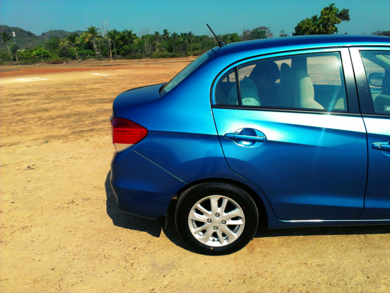 Honda Amaze Boot image photo