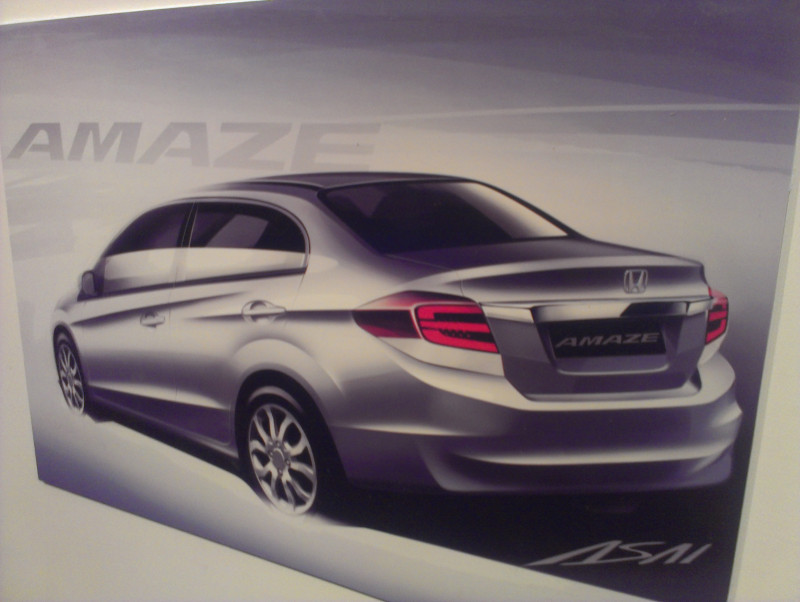 Honda Amaze Design concept photo