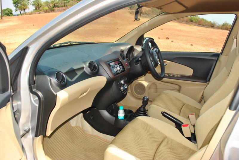 Honda Amaze Front Legroom
