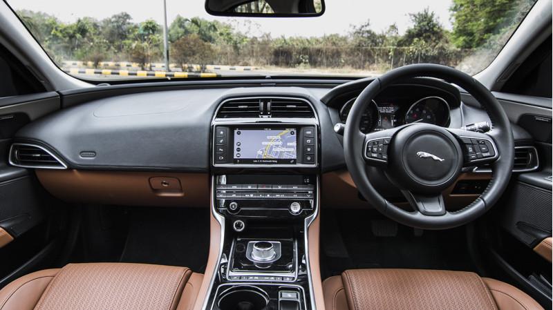 ... Jagaur XE JLR First Drive Review CarTrade Interior Photos Images Pics  India 20160301 06 ...