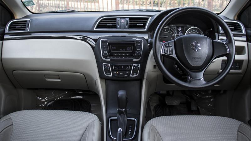 Maruti Suzuki Ciaz Automatic Review CarTrade Photos Images Pics India 20160303 22