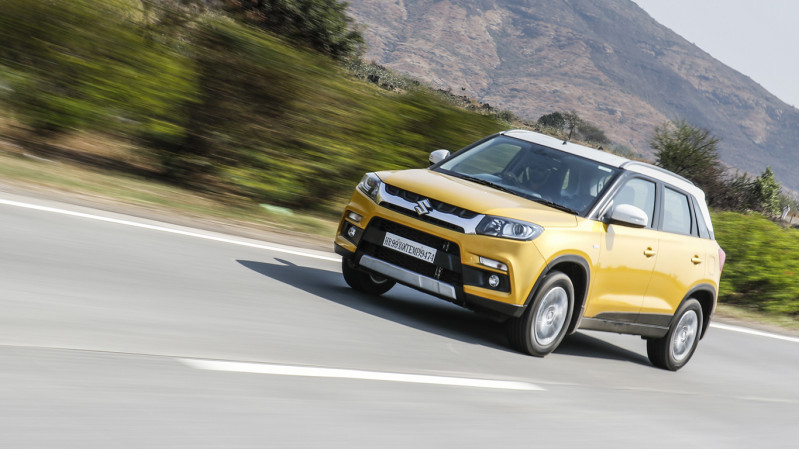 Maruti Suzuki Vitara Brezza First Drive Review CarTrade Photos Images Pics India 20160311 79