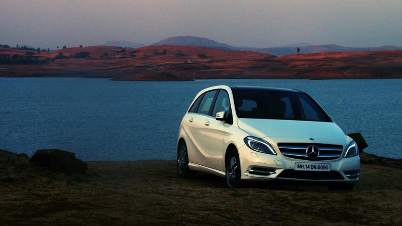 Mercedes Benz B Class Towque image
