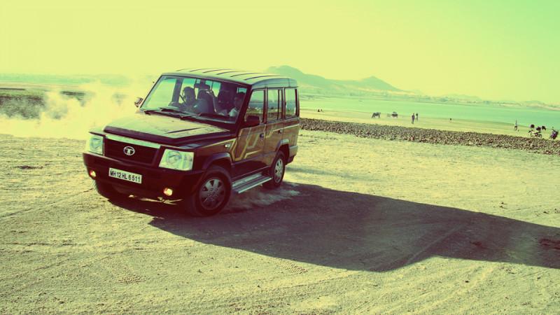 Tata Sumo tyres image