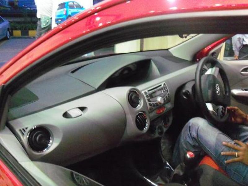 Toyota Etios Liva Interior Photo