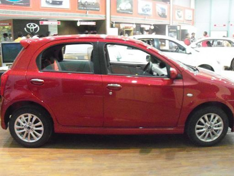 Toyota Etios Liva Side Angle High View Picture