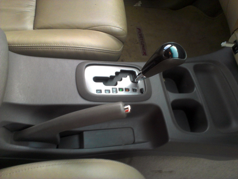 Toyota Fortuner central panel image